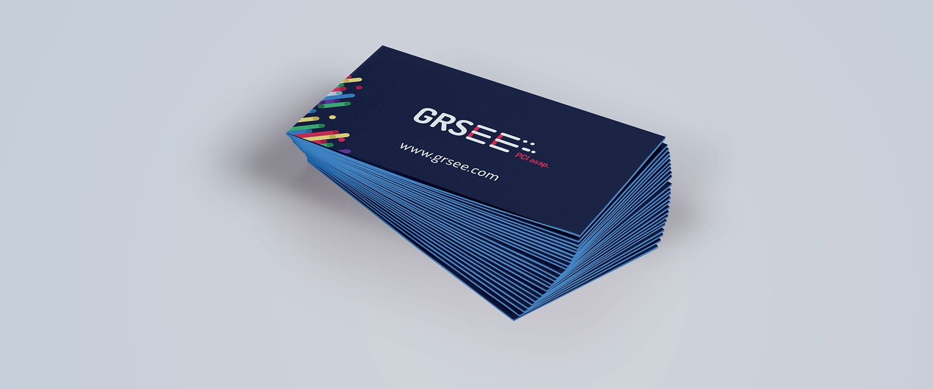 GRSee business card mockup